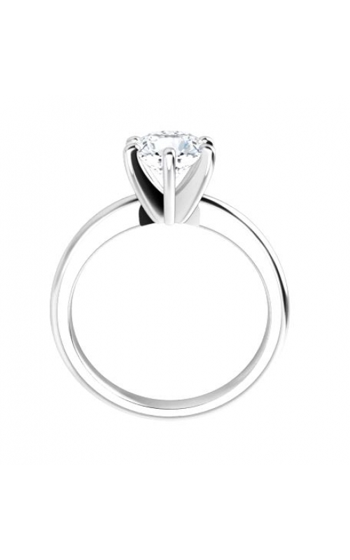 Solitaire 14K Gold 6 Prong Diamond  Ring product image