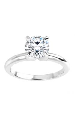 Solitaire 14K Gold 4 Prong Diamond Engagement Ring product image