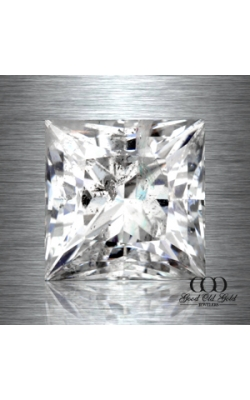 0.92ct H I2 Princess Cut Clarity Enhanced  product image