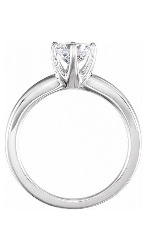 Solstice Solitaire 14K Gold Diamond Ring product image