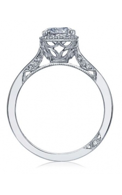 Tacori Platinum Ring W 1ct Cushion August Vintage  product image