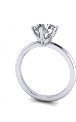 Custom Good Old Gold Classic 6 Prong Solitaire Ring product image