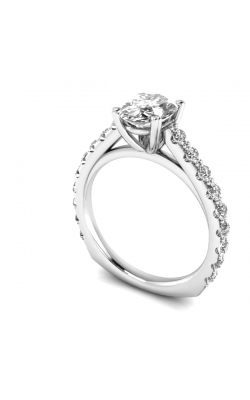 Custom Good Old Gold Diamond Engagement Ring product image