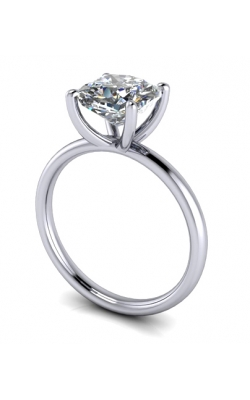 Custom Good Old Gold Classic 4 Prong Solitaire Ring product image