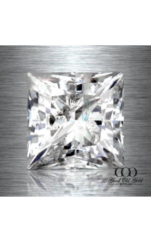 0.92ct H I2 Clarity Enhanced Ideal Princess Cut Diamond product image