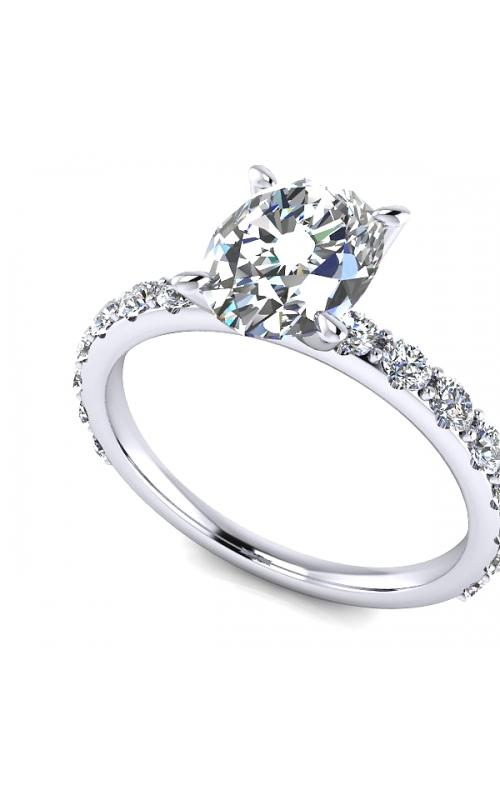 Custom Diamond Engagement Ring product image