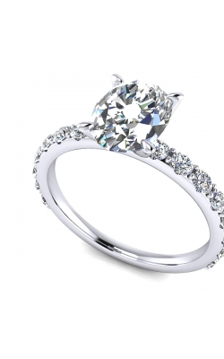 Custom Diamond Engagement Ring product image