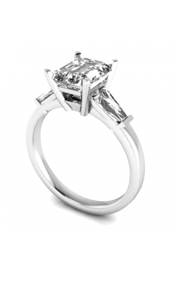 Custom Good Old Gold Engagement Ring W. Diamond Ascent product image