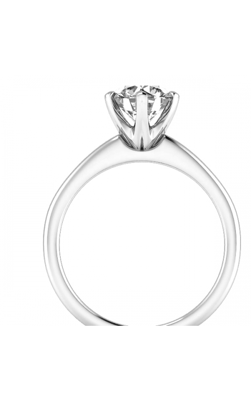 Solitaire 14K Gold Diamond Ring product image