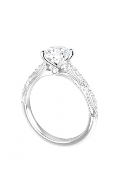 14K Gold Diamond Ring With Side Suprise Diamond product image