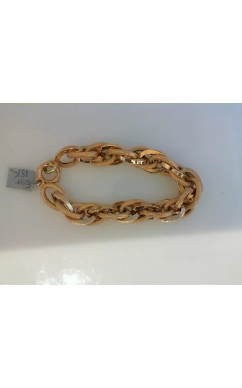 est-18kt oval link brace product image