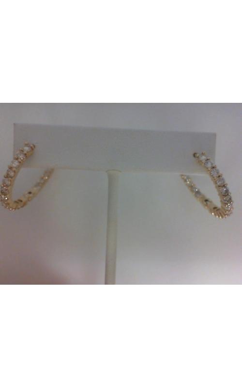 est dia-hoop earrings product image