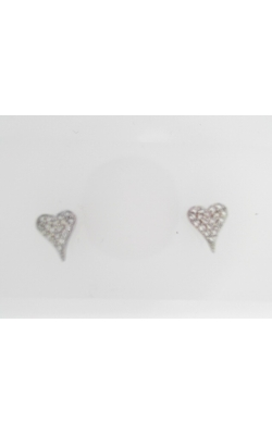 Bob-silver Earring  Heart Czs product image