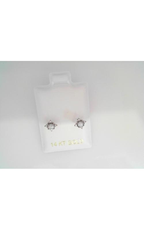 MJ-pearl stud czs product image