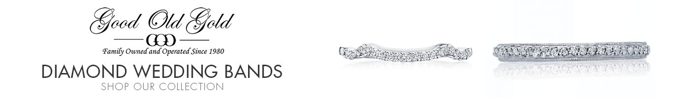 Diamond Wedding Bands at Good Old Gold Jewelers