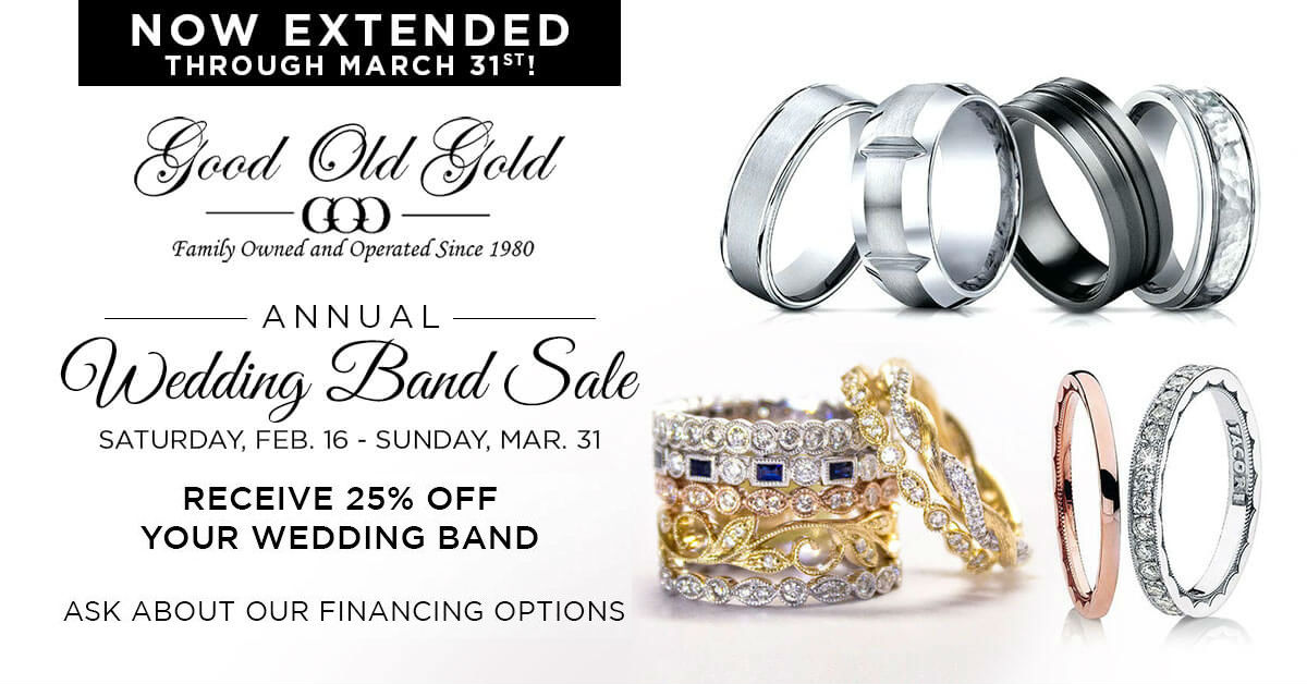 Wedding Band Sale 2019