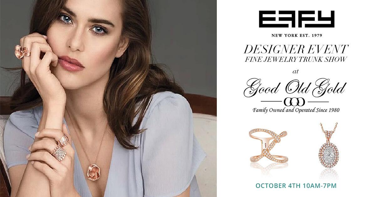 Effy Designer Trunk Show Event