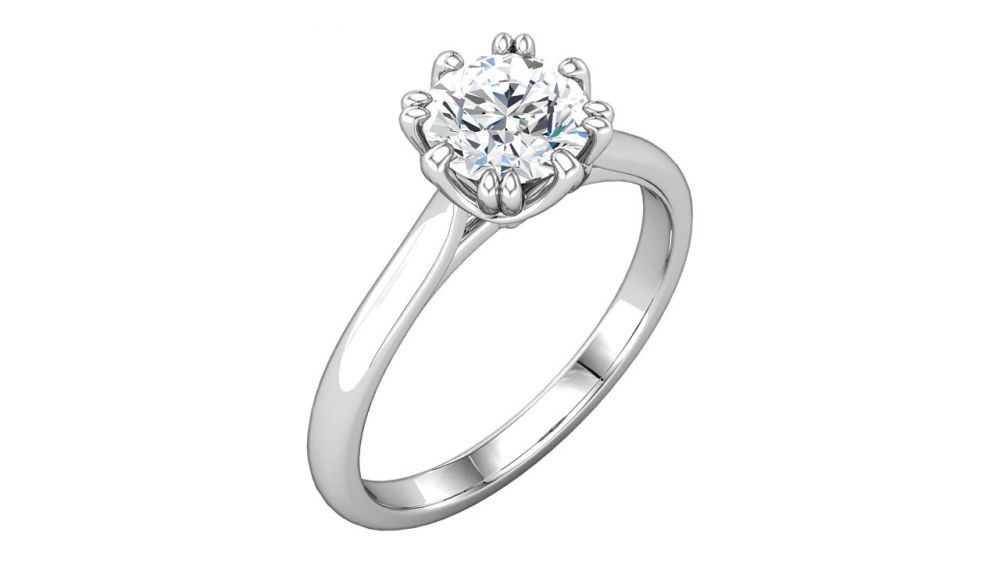 Stuller Solitaire Engagement Ring